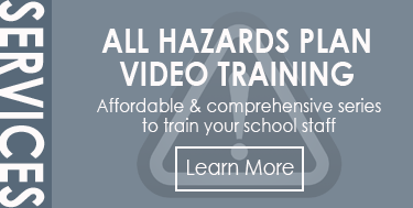 All Hazards Plan Video Training - Affordable & comprehensive series to train your school staff