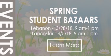 Student Bazaars 3/28 and 4/5 - Times/Locations Here!
