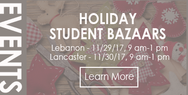 Student Bazaars 11/29 and 11/30 - Times/Locations Here!