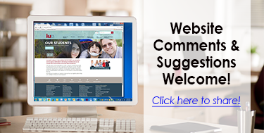Website Comments & Suggestions Welcome! Click here to share.