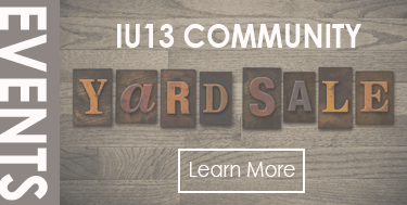Annual IU13 Community Yard Sale - Details Here!
