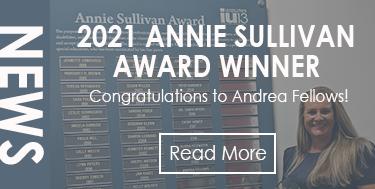 2021 Annie Sullivan Award Winner