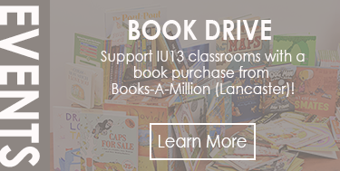 Book Drive to support IU13 classrooms
