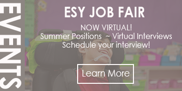 Extended School Year (ESY) Job Fair - On-Site Interviews!