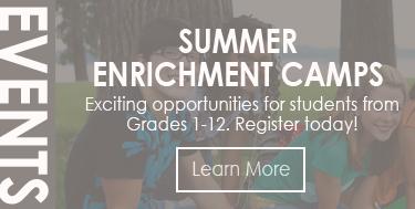Summer Enrichment Camps!
