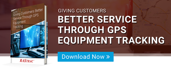 Giving Customers Better Service Through GPS Equipment Tracking