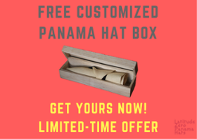 panama hat box offer