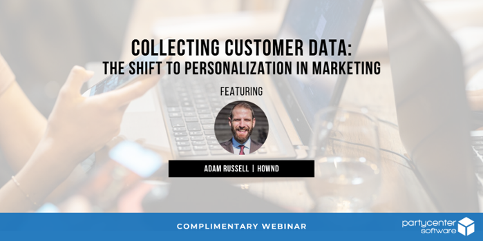 Collecting Customer Data Webinar with Hownd