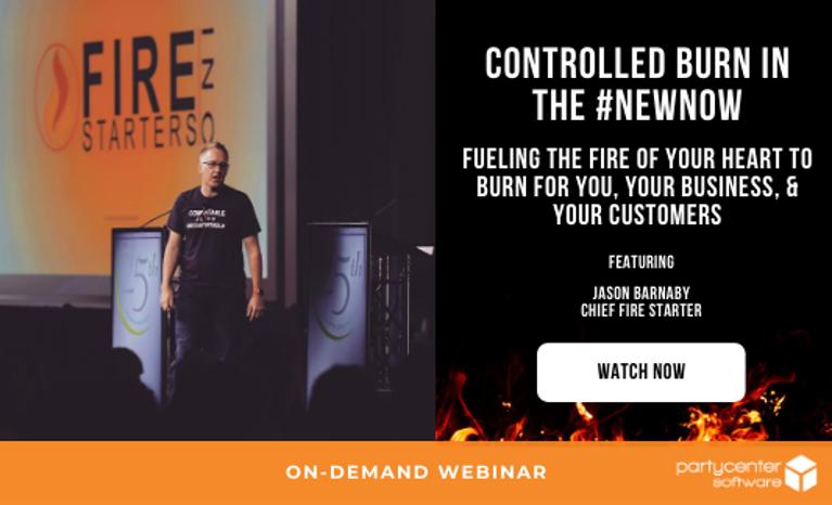 Watch the Webinar Now: Become a Fire Starter!