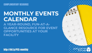 Complimentary Guide: Monthly Events Calendar