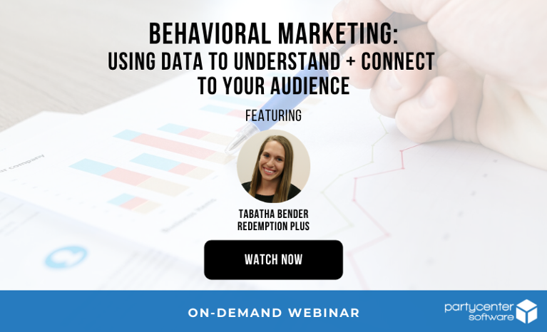 Watch the Webinar Now: Behavioral Marketing - Using Data to Understand + Connect to Your Audience