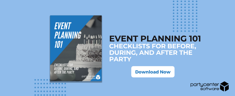 "Free Download: The Event Planning Checklist - ""The Party"""