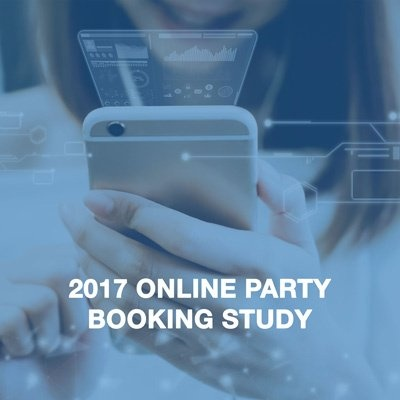 Fuel your party booking strategy with the 2017 Online Party Booking Study