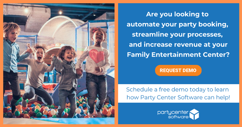 Schedule a free demo of Party Center Software today!