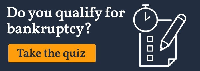 Do you qualify for bankruptcy