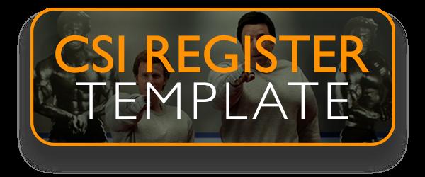 CSI Register Template