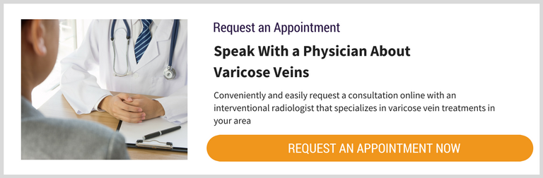 Request an Appointment for Varicose Veins