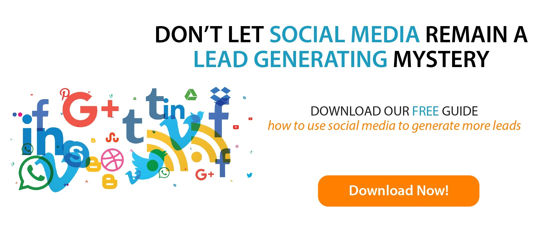 Don't let social media remain a lead generating mystery.