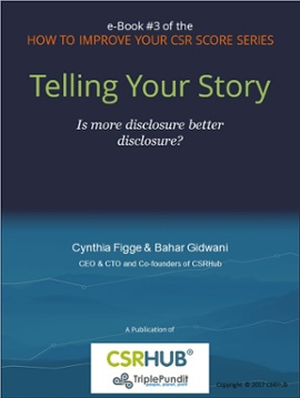 Tell Your Story, book #3 in the How to Improve Your CSR Score Series