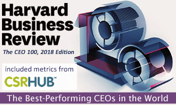 HBR Top 100 Included CSRHub Metrics