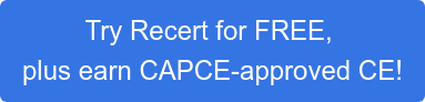 Try Recert for FREE,  plus earn CAPCE-approved CE!