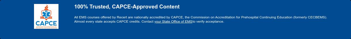 You've Got a Free Recert Course! View Recert Access Code