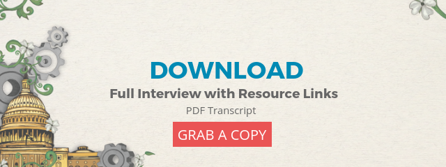 click on this image to download transcript of interview