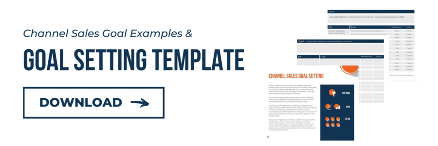 Channel Sales Goal Setting Template, Download
