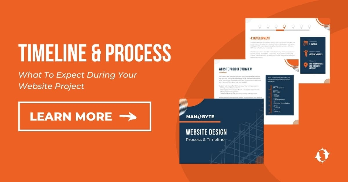 Timeline and Process, What to Expect During Your Website Project, Learn More