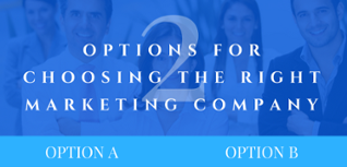 Options for choosing the right marketing agency