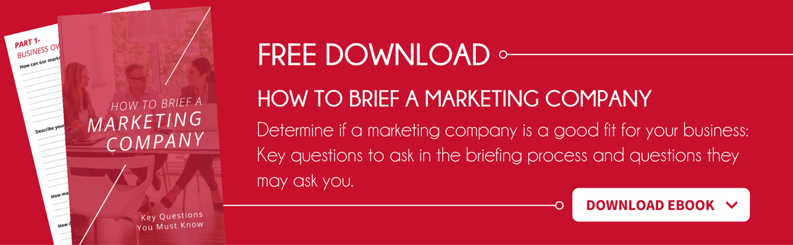 How to Brief a Marketing Company