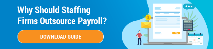Why Staffing Firms Should Outsource Payroll