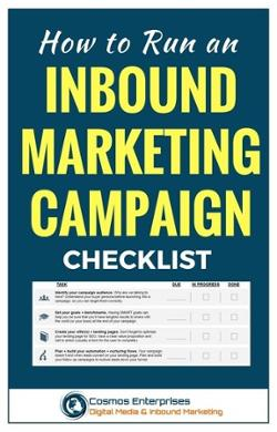 Checklist on How to Run an Inbound Marketing Campaign