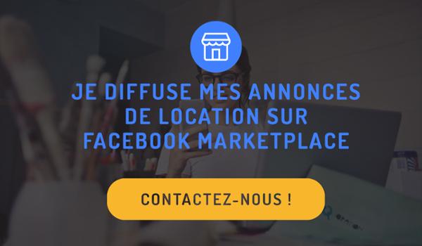 je diffuse mes annonces de location sur Facebook Marketplace