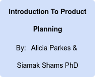Introduction To Product Planning