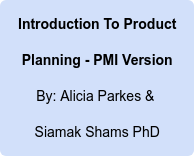 Introduction To Product Planning - PMI Version