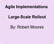 Agile Implementations: Large-Scale Rollout