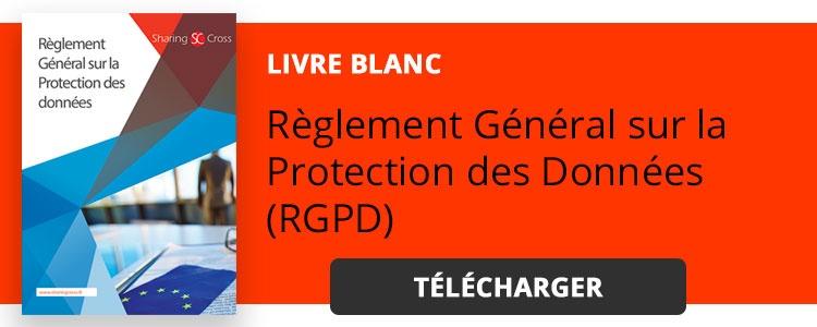 Livre blanc RGPD