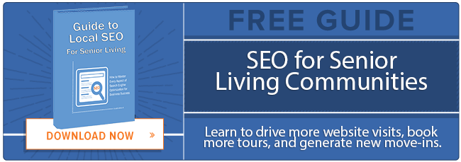 SEO for senior living