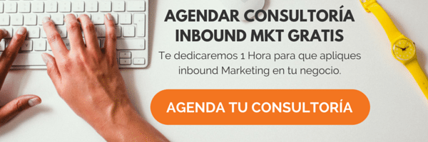Agendar asesoría inbound marketing