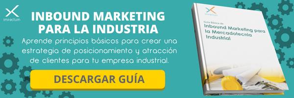 inbound marketing para la industria