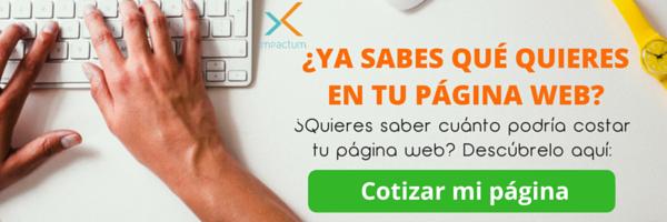 cotizar pagina web