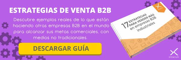 Estrategias de venta B2B