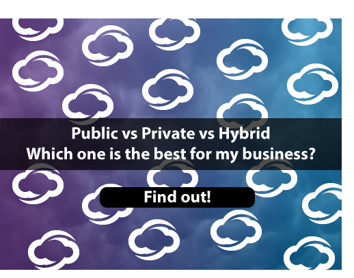 CTA differences between public private and hybrid cloud
