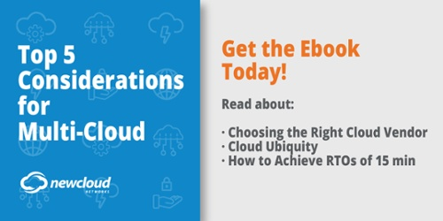 NewCloud Top 5 Considerations for Multi-Cloud Ebook