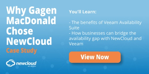 NewCloud Gagen MacDonald Case Study Backup as a Service Veeam
