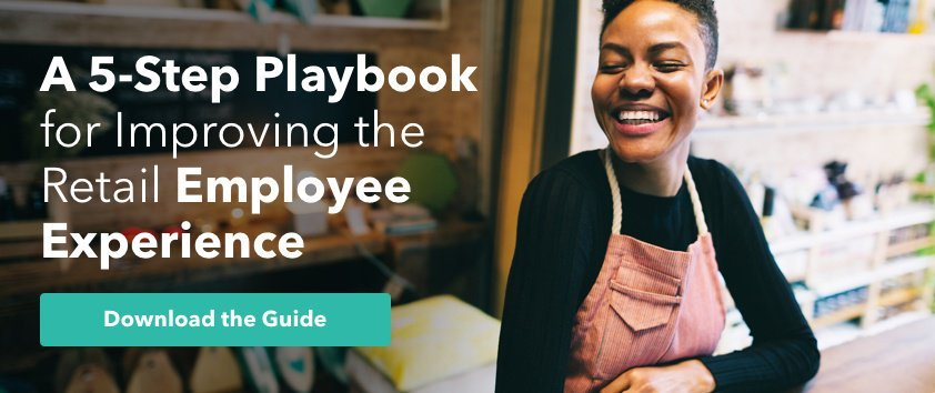 A 5-Step Playbook for Improving the Retail Employee Experience