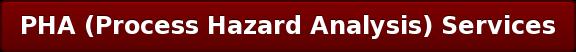 PHA (Process Hazard Analysis) Services