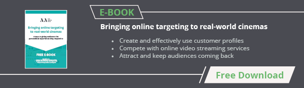 Bring online targeting to real world cinemas - free download