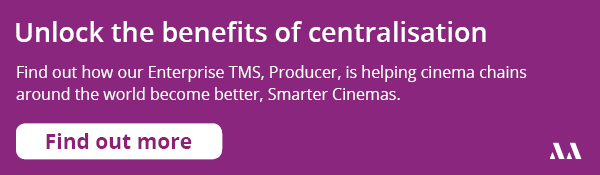 Producer smarter cinema enterprise TMS